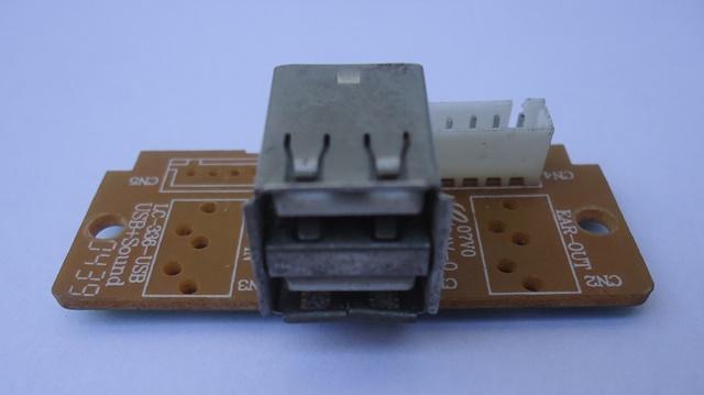 Placa Conector USB P/ Gabinete 01