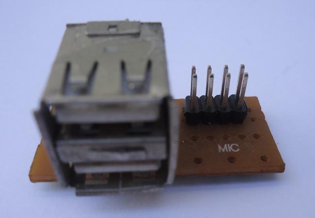Placa Conector USB P/ Gabinete 02