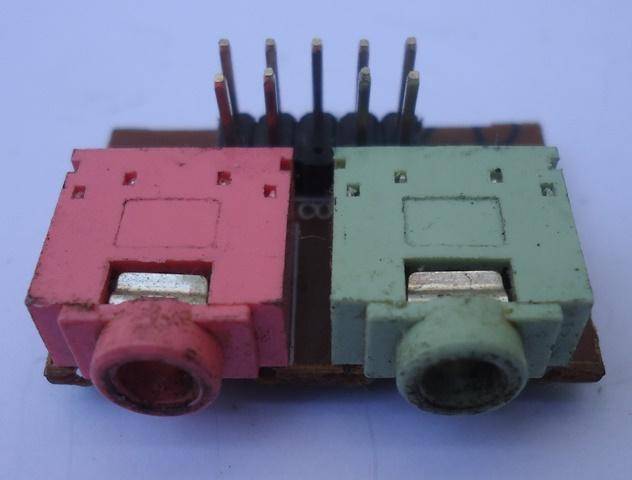 Placa Conector Áudio P2 P/ Gabinete