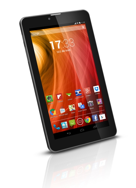 Tablet Multilaser M7 3G NB162 Android 4.4 Wi-fi 8GB Dual Chip Preto