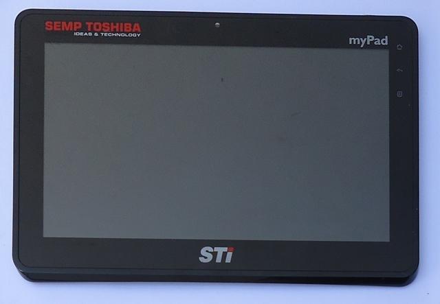 Tela Touch Display Modulo Tablet Semp Toshiba MyPad TA 1020W