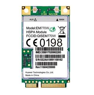Placa Conector Wi-Fi Huawei EM770W  Tablet Semp Toshiba STI MyPad TA 1013G