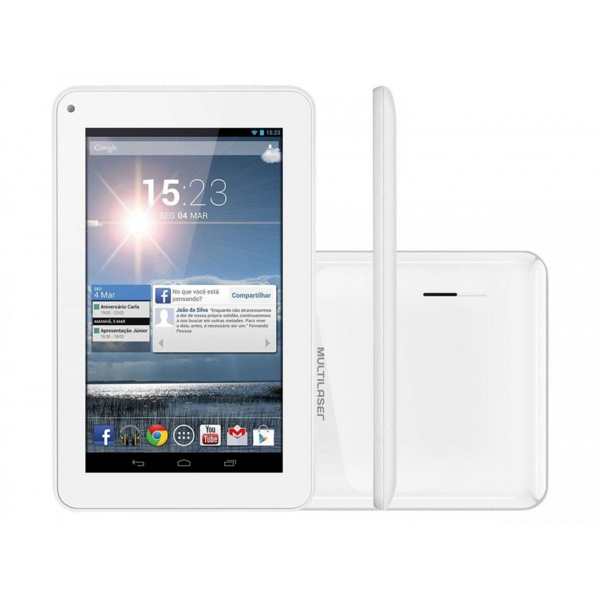 Tablet Multilaser M7S 8GB Wi-Fi Tela 7