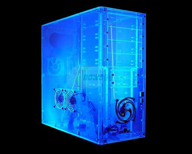 Gabinete Logisys Computer CS888UVBL Inteiro Acrilico Casemod