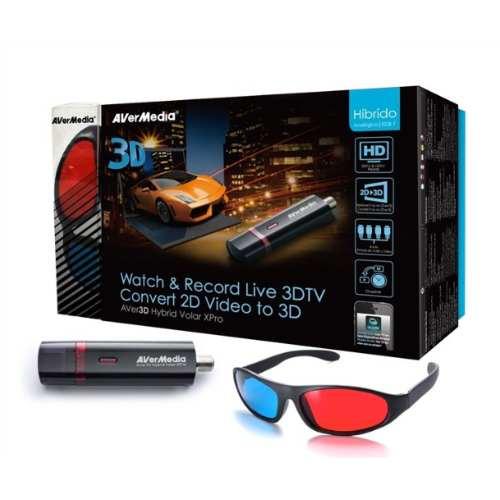 Dispositivo De Tv Híbrida Avermedia Avertv H869 - 3d Usb 2.0