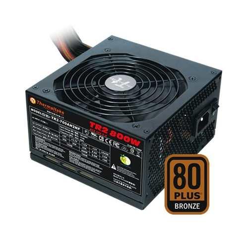 Fonte Thermaltake Tr2 800w Psu 80+bronze Tr-800p
