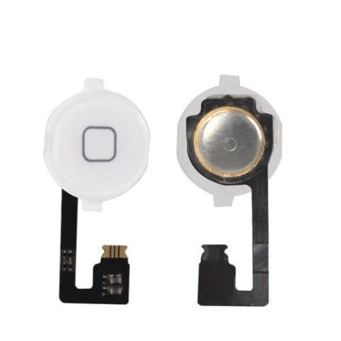 Flex Conector Botão Home iPhone 4g Branco