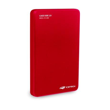 Case P/ HD CH-200RD Vermelha
