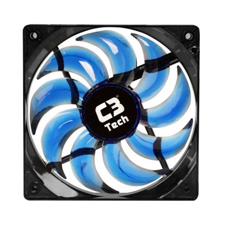 Cooler Fan Led Azul C3 Tech F9-L100BL Storm 12cm