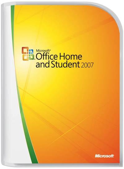 Office 2007 Home & Student 3 usuários - Microsoft
