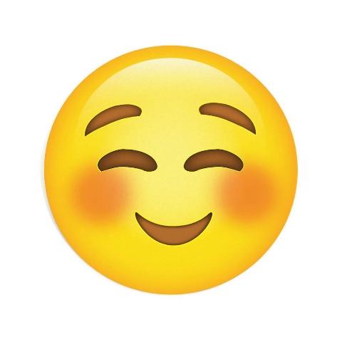 Mousepad Decor ColorFun Emoticon Feliz