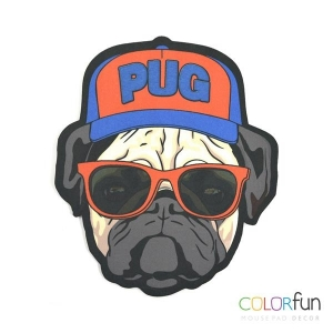 Mousepad ColorFun - Pug
