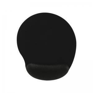 Mousepad Ergonômico C/ Apoio de Punho em Gel - Preto