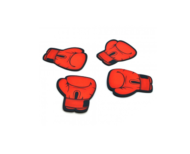 Kit C/ 4 Portas Copos ColorFun Decor - Luva de Boxe