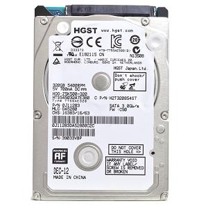 HD P/ Notebook - Z5K500 320GB SATA/300 5400RPM 8MB 2.5