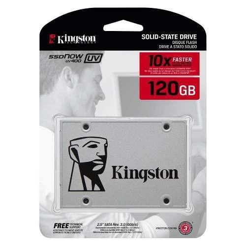 HD SSD Kingston 120GB 2.5 Polegadas Sata 3.0 6Gb/S  SUV400S37/120G