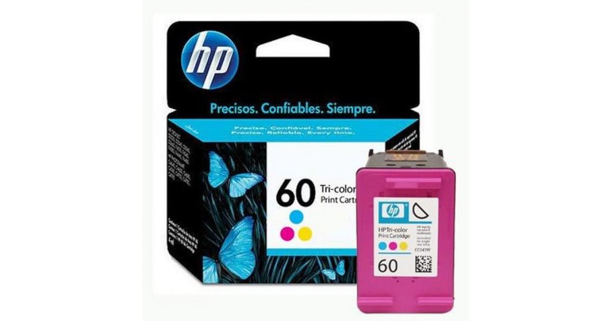 Cartucho de Tinta HP - 60 Colorido