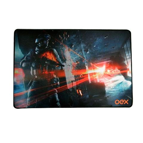 Mousepad Gamer MP301 Oex Battlefield 50x33cm