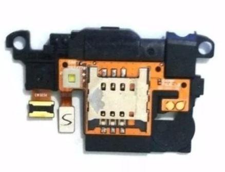 Flex Conector de Chip C/ Câmera LG Optimus L4 II E470
