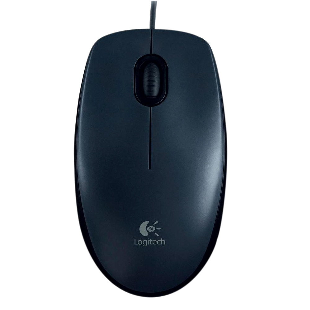 Mouse Óptico USB Logitech M90 - Preto