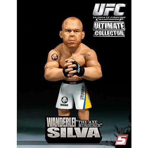 Boneco Colecionável 3D Real Wanderlei Silva UFC Ultimate