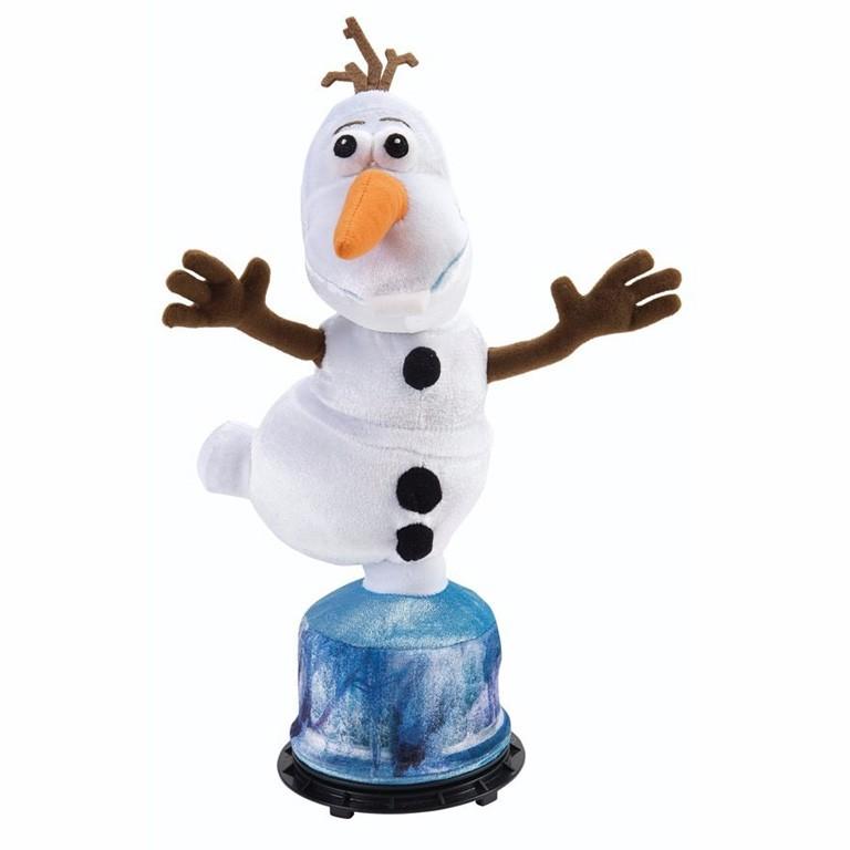 Boneco de Pelucia Olaf Frozen Gira e Fala - BR277