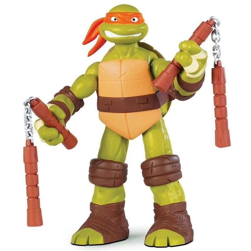 Boneco Michelangelo Tartarugas Ninjas 25cm - BR033