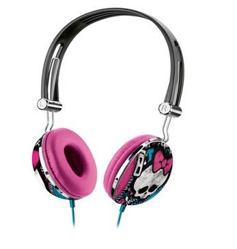 Fone de Ouvido Headphone Monster High Rosa Multilaser - PH100