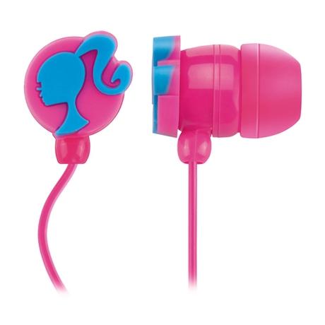 Fone Barbie  de Ouvido Headphone Rosa Multilaser - PH109