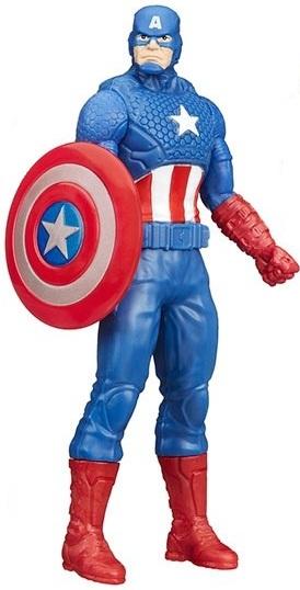 Boneco Marvel Capitão América 14cm