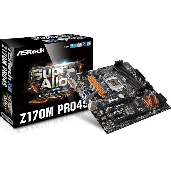 Placa Mãe Asrock Z170 Pro4s Atx Intel Socket LGA 1151 DDR4