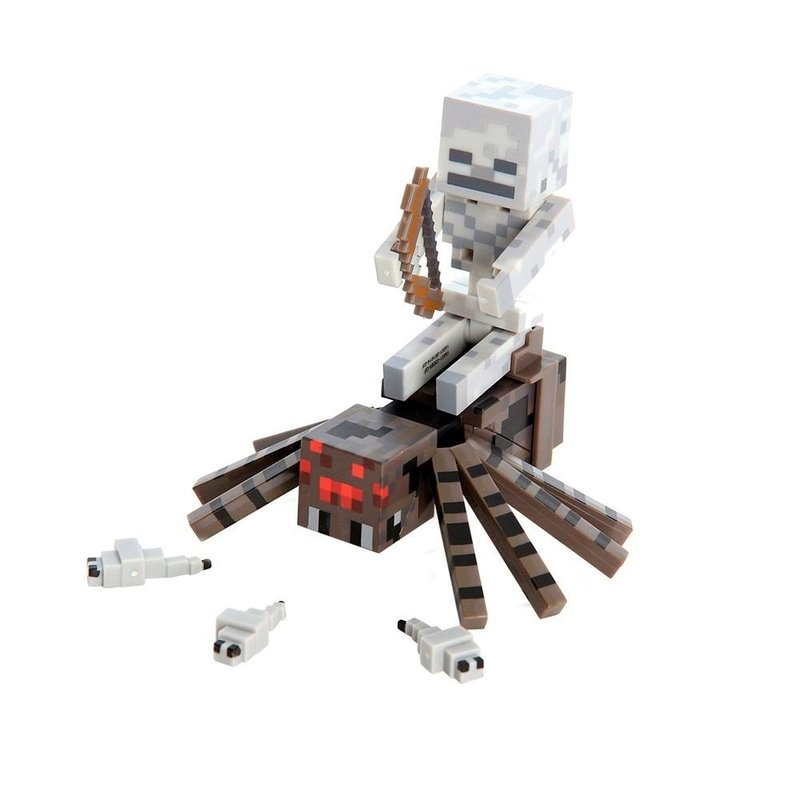Boneco Minecraft Spider Jockey Multilaser Multikids BR152