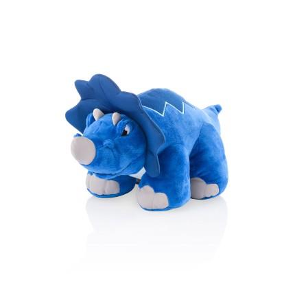 Dinossauro de Pelúcia Dino Thunder Stompers Azul Multikids - BR358