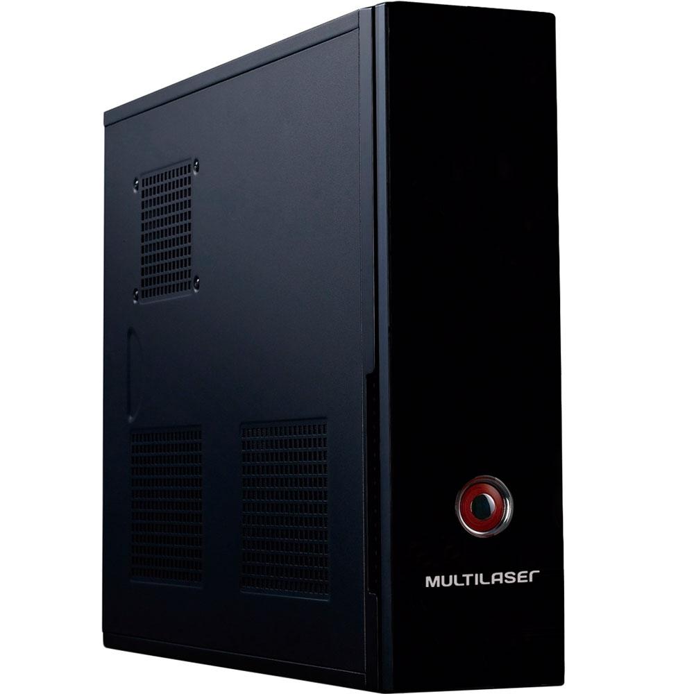 Gabinete Multilaser Slim C/ Fonte ATX 200W GA127 - Preto