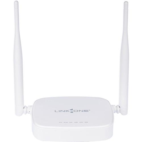 Roteador Wireless L1-RW332 300Mbps 3 Portas 2 Antenas 5dbi WPS - Link One