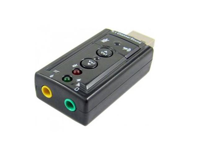 Placa de Som USB 7.1 Exbom USON-10