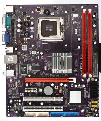 Placa Mãe VSCOM VS G31T-M 775 DDR2