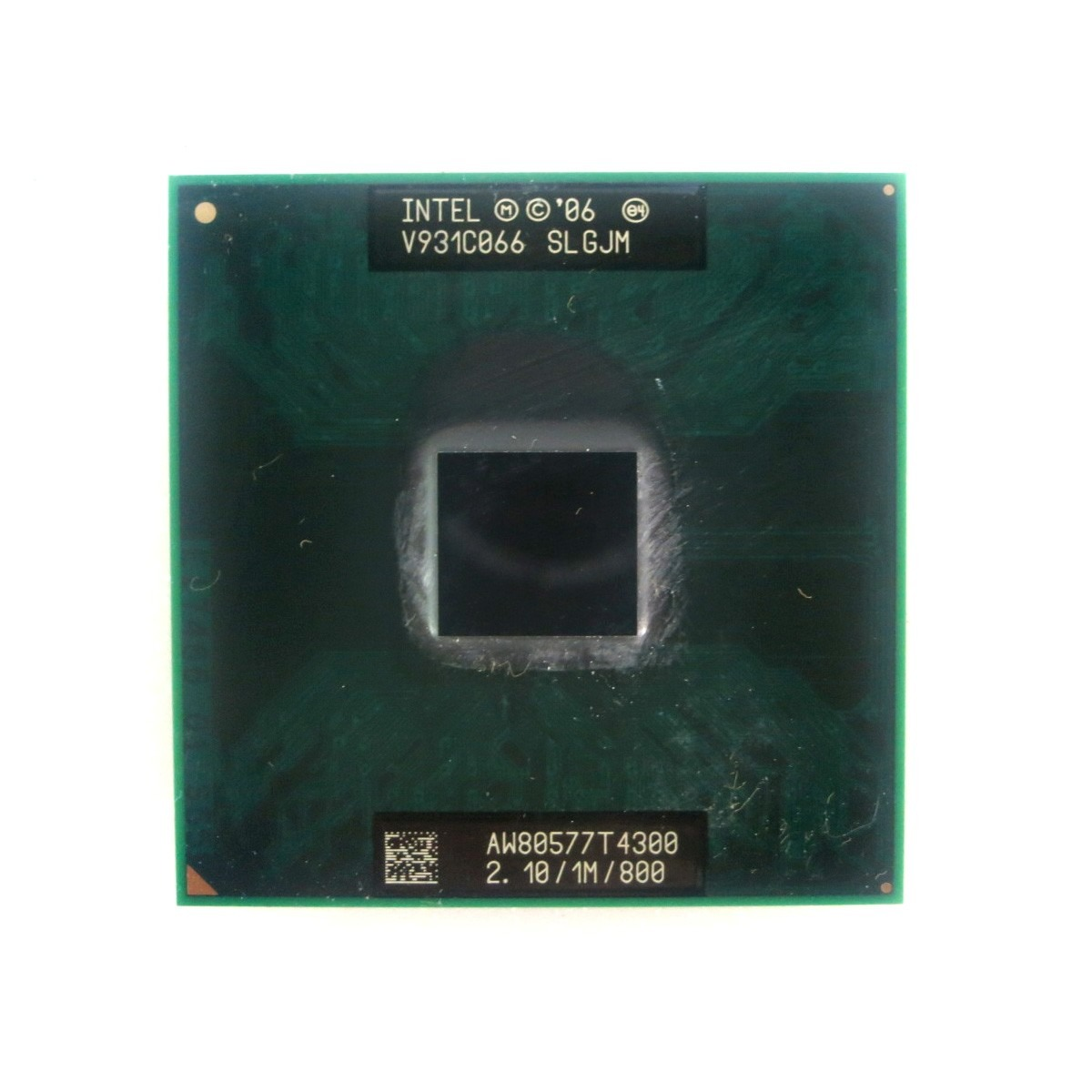 Processador Notebook Intel® Pentium T4300 SLGJM 1MB Cache 2.10Ghz