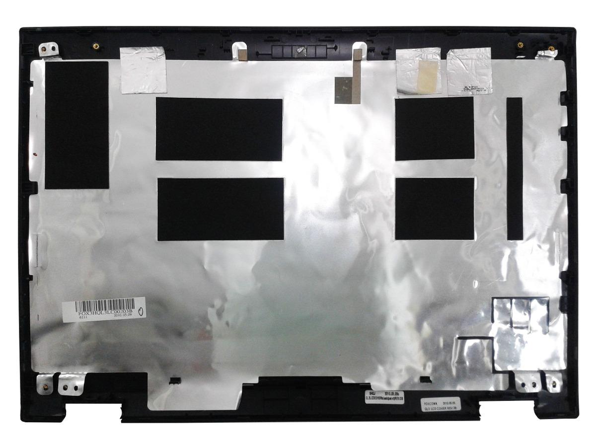 Carcaça Tampa e Moldura Notebook LG R480 Preta - Semi Nova