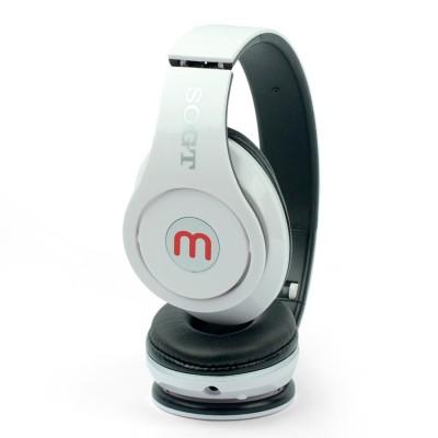 Headphone Wirelles Bluetooth Music ST-P15 Branco
