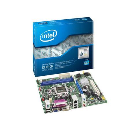 Placa Mãe Intel DH61CR-BR DDR3 133 LGA1155