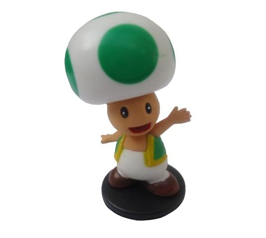 Boneco Colecionável Super Mario - Toad Verde