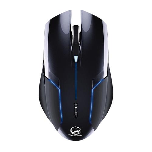 Mouse Óptico USB 2400dpi Preto Team Scorpion X-Luca ENZATEC