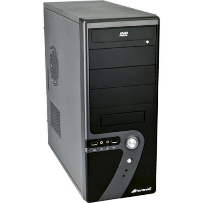 Gabinete Compact Preto Q515K Fortrek C/  Fonte 200w