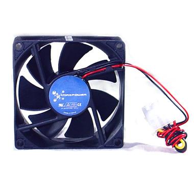 Fan Maxpower 80x80x25 Black 4pin Mpfan80sb4