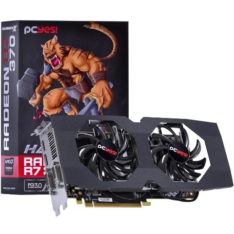 Placa de Vídeo Radeon R7 370 PCYes! 2GB GDDR5 256Bits VGA