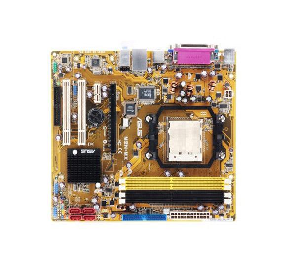 Placa Mãe Asus M2N-MX Am2 DDR 2 VGA USB 2x PCI 32bits 33Mhz - Semi Nova