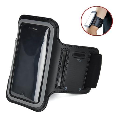 Braçadeira P/ Smartphone de 4 à 5,5 Polegadas - Preta
