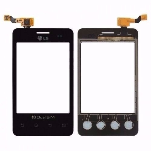 Tela Touch LG Optimus L3 E435 - Preta