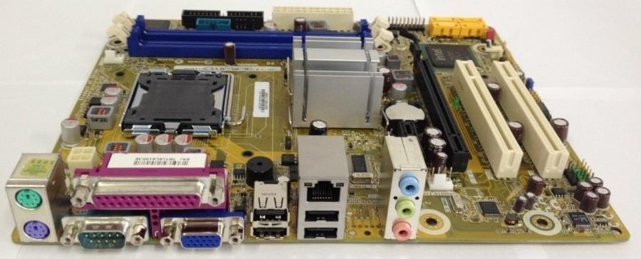 PLACA MÃE PC WARE IPM41 775 DDR2 OEM SEMI NOVA